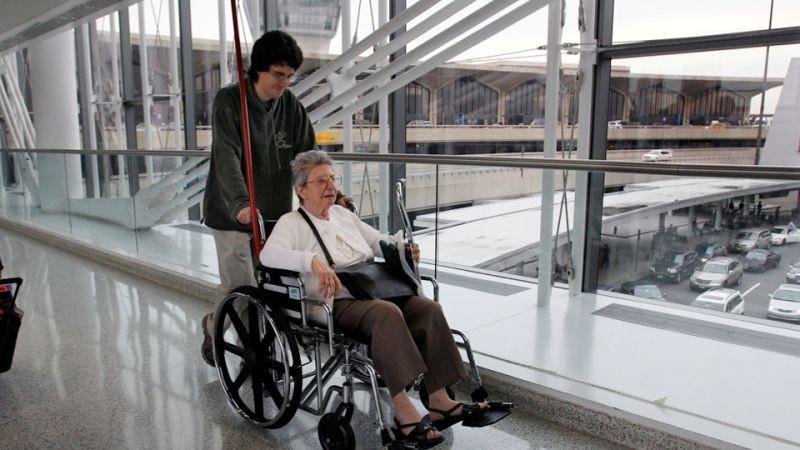 Not Kelly Deutsch in wheelchair