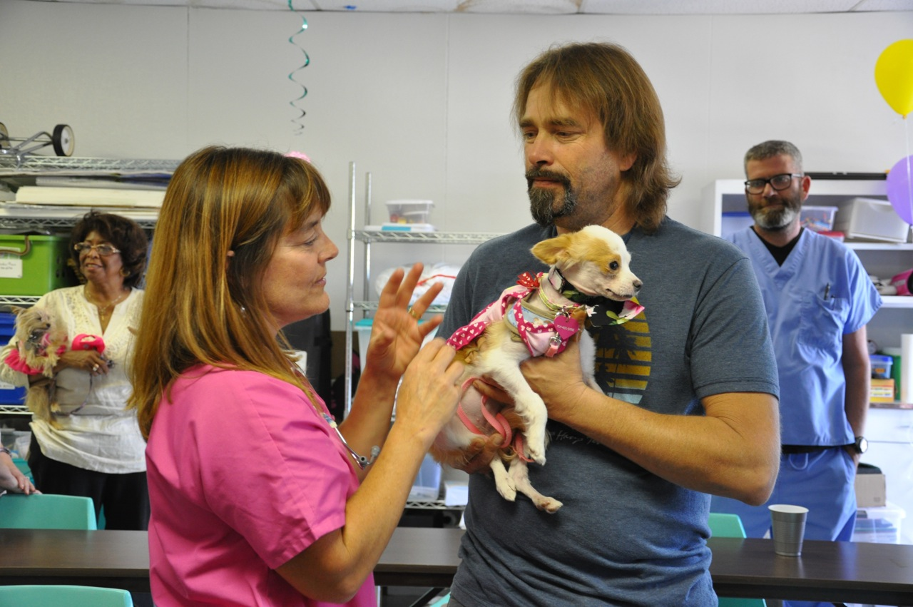 Bon Voyage party at the SPCA