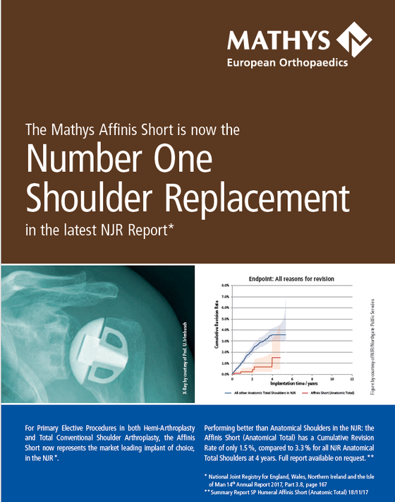 Affinis Short: The number one shoulder replacement