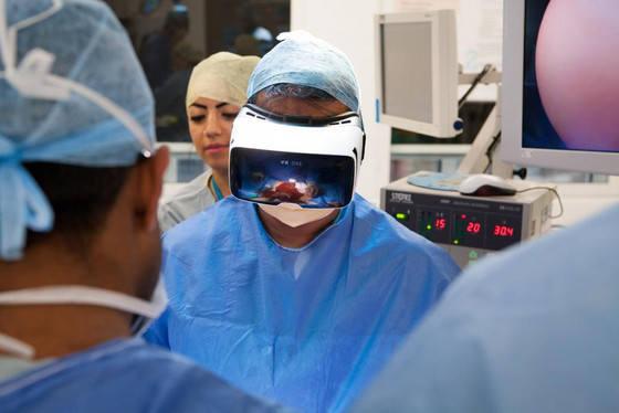 The world's first surgery with augmented reality made in France