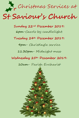Christmas Services @ St Saviour's