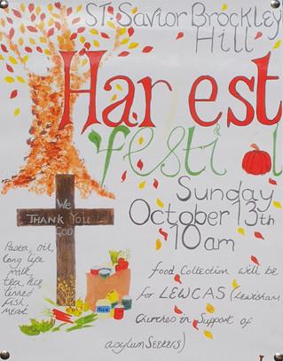 Harvest Festival Service, Sunday 13th October @ 10am