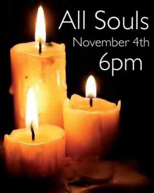 All Souls Service 4/11/18 @ 6pm