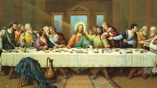 Triduum Part 1: Eucharist of the Last Supper (Video)