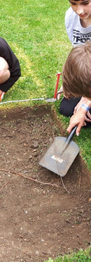Scouts Archaelogical Dig