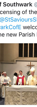 Welcome Fr David to Saviour's!