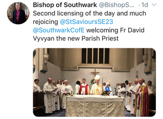 Welcome Father David Vyvyan as our new Priest-In-Charge