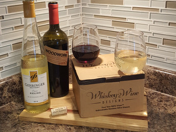 "How To ""Launch"" Your New Whiskey2Wine Designs Stemless Wine Glasses"