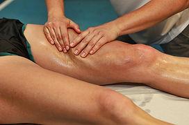 leg sports massage edinburgh