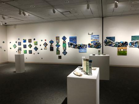 Kearney Show Gallery Installation