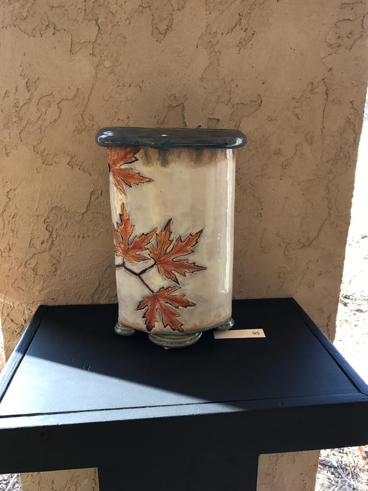 Maple Leaf Vase