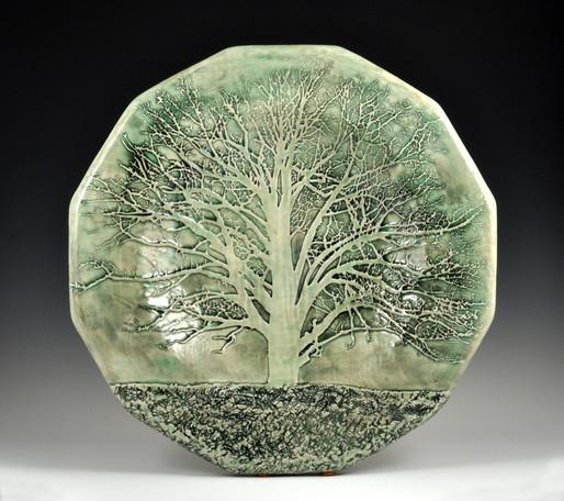 Oak Tree Platter