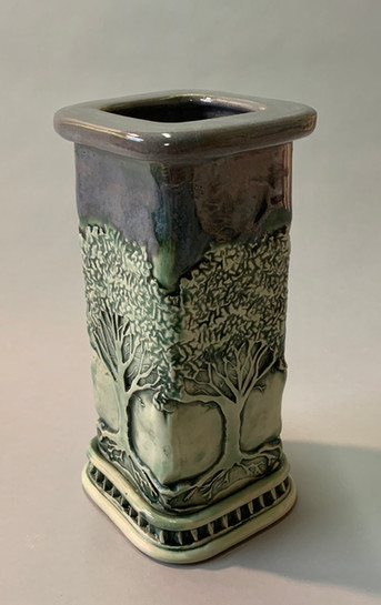 Square Tree Vase