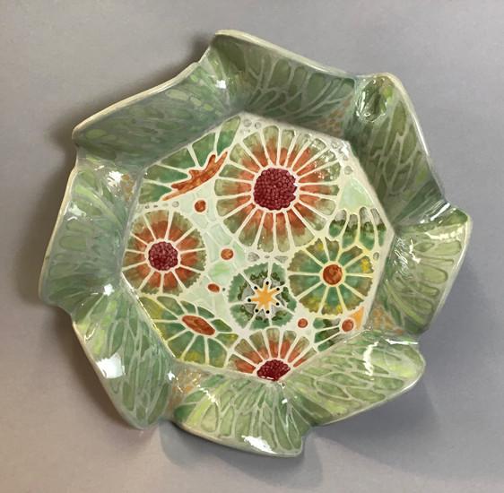 Floral Platter
