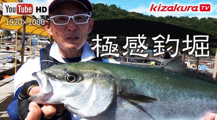 極感釣堀②ヒラマサを釣る!