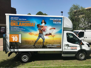 Luton van for Chichester Festival Theatre
