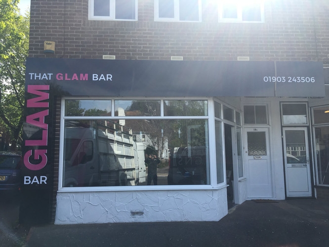 That Glam Bar Fascia