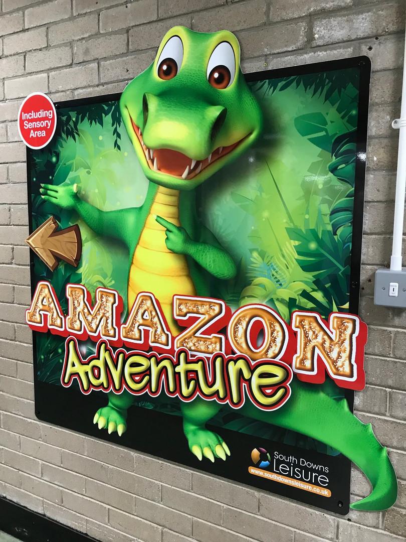 Amazon Adventure Signage