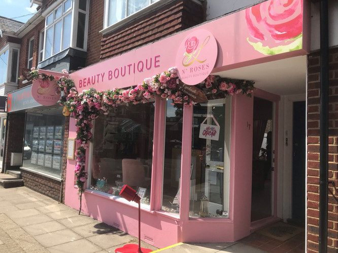 Beauty Boutique Fascia