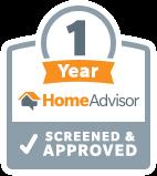 1 Year with HomeAdvisor