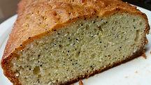 Cake au citron et au graines de pavot