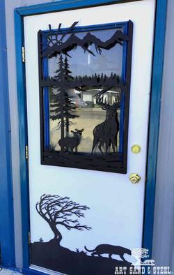 Art Sand Steel Door