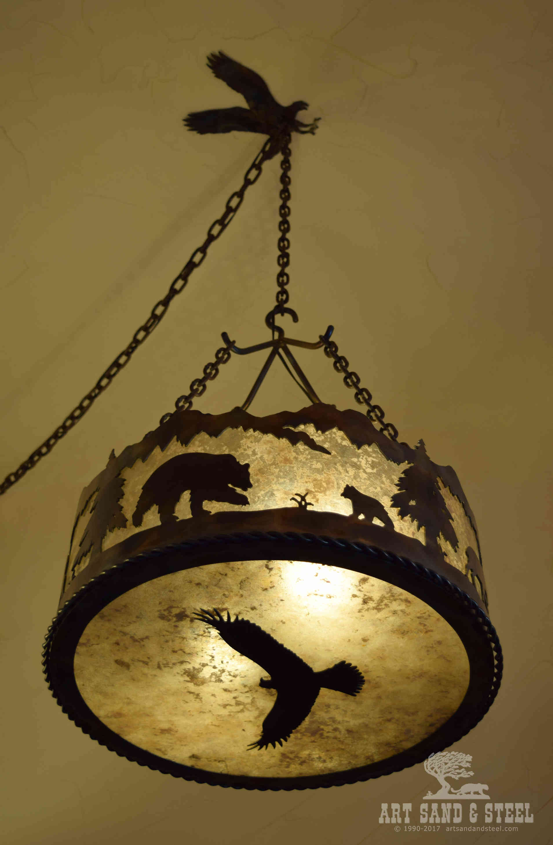 Wildlife Chandelier