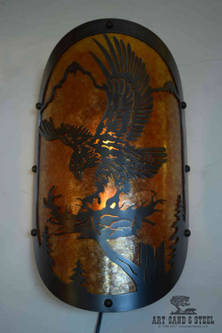 Eagle Sconce