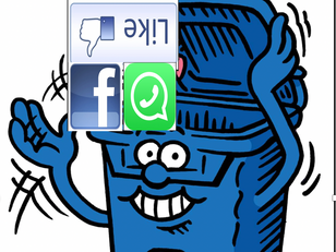 Byebye Facebook and Whatsapp