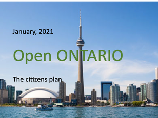 Citizens plan to Open Ontario
