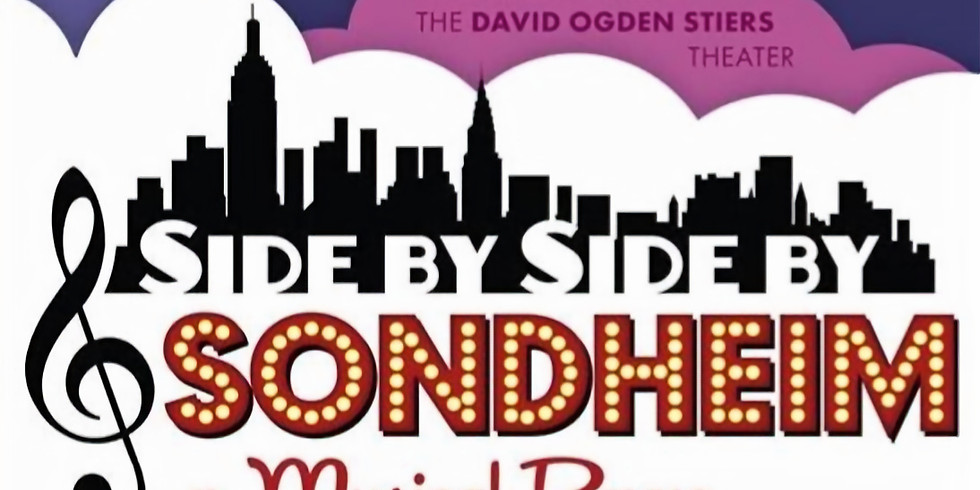 """Dessert and a reading of """"Side by Side by Sondheim"""""""