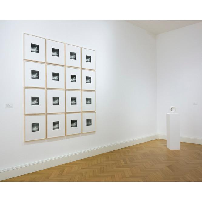 Instal view at Viasaterna Gallery, Gradi di Vuoto