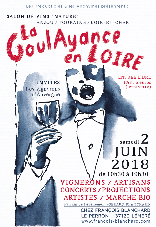 Flyer Goulayance en Loire 2018