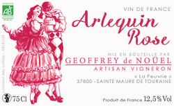 ETIQUETTE ROSÉ_Arlequin_rose#GeoffreydeNouel