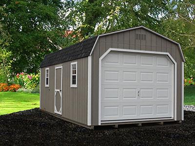 Painted Dutch Garage 1