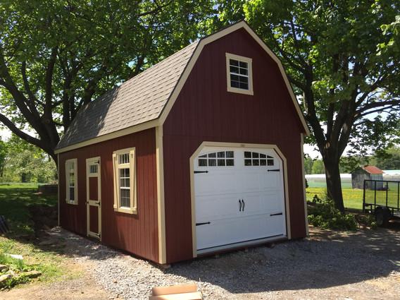 2 Story Single Garage