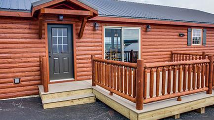 Riverwood Cabin Model 1-20