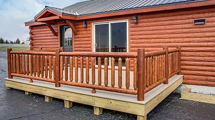 Riverwood Cabin Model 1-22