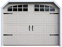 Carriage House 9x7 Garage door