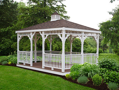 Vinyl Rectangle Gazebo 2