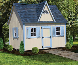 Victorian style playhouse