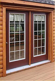 French door option