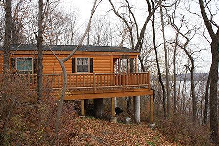 Adirnodack Model Sportsman residential cabin