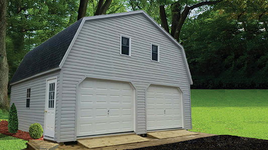2 Story Double Garage 1