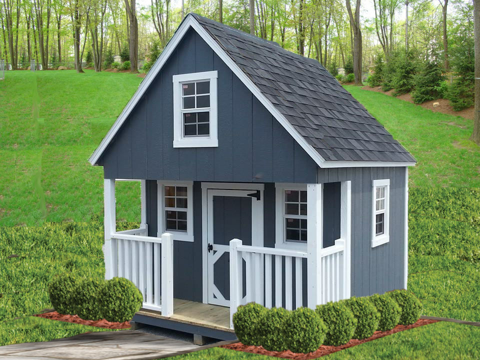 blue cabin playhouse
