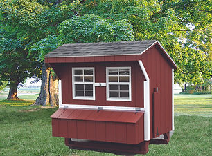Smartside Chicken Coop
