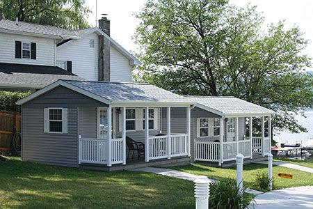 Weekender residential cabin model
