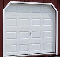 Standard 9x7 garage door