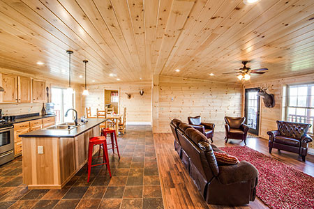 Riverwood Cabin Model 1-12