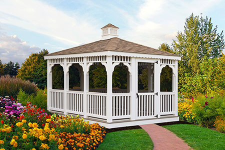 Vinyl Rectangle Gazebo 1
